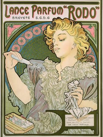 Poster Advertising Lance Parfum 'Rodo', 1896