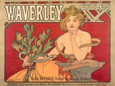 Poster Advertising 'Waverley Cycles', 1898