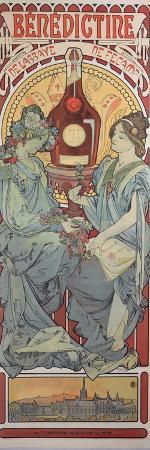 Poster Advertising 'Benedictine' Liqueur, 1898