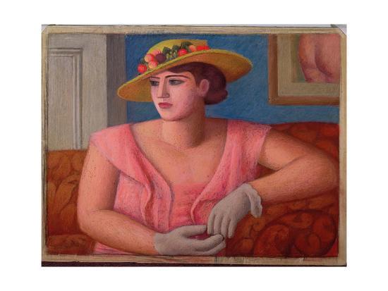 Portrait of Marjorie Gertler, 1933