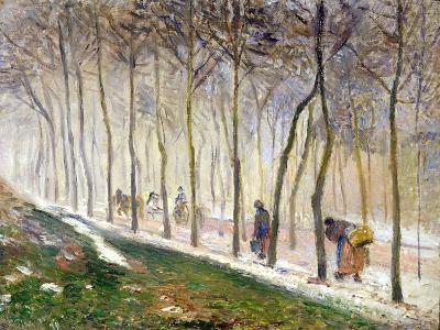 La Route, Effet Du Neige, 1879