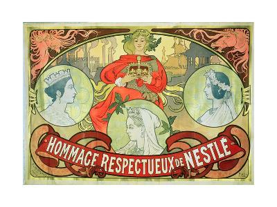 Hommage Respectueux De Nestle, 1897