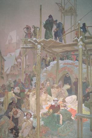 Jan Milic of Kromeriz (D.1374), from the 'Slav Epic', 1916