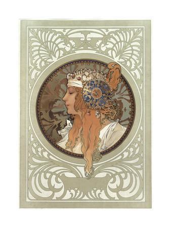Tetes Byzantines: Blonde, 1897