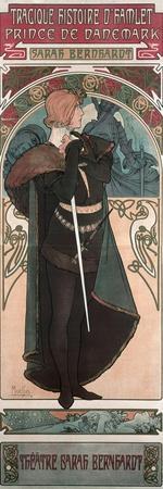Sarah Bernhardt (1844-1923) as Hamlet at the Theatre Sarah Bernhardt, 1899
