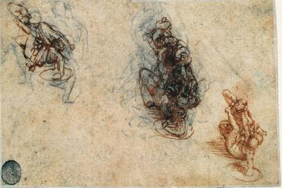 Study of Men Fighting, 1503-4