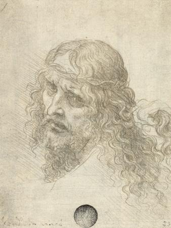 Head of Christ with a Hand Grasping His Hair