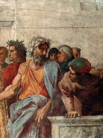 Disputa, from the Stanza Della Segnatura, 1508-11 (Detail)