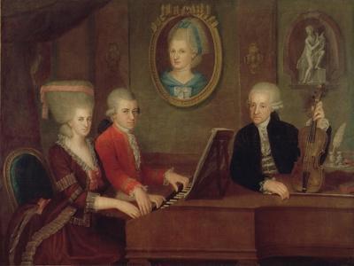 The Mozart Family, 1780-81