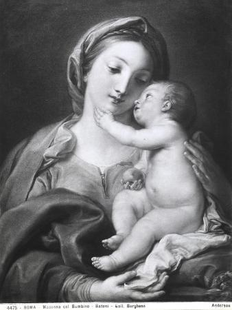 Madonna and Child, 1708