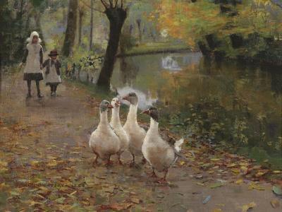 Goose Girls, 1885