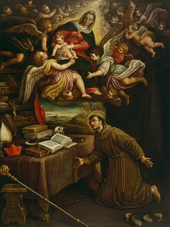 Apparition of the Virgin to Saint Bonaventure