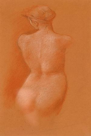 Nude Female Study, c.1890