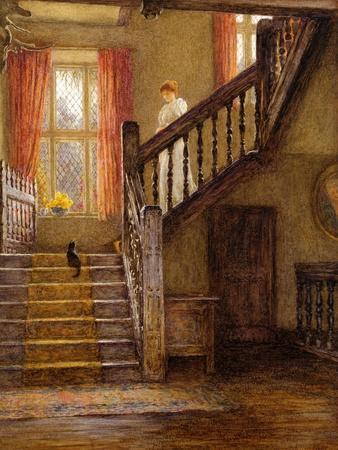 The Staircase, Whittington Court, Gloucestershire