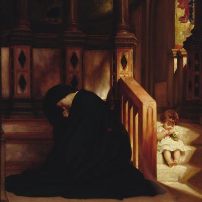 The Widow's Prayer, c.1864/65