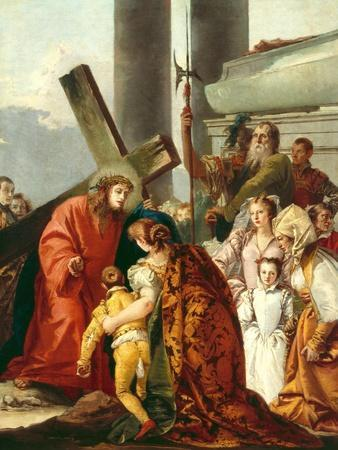 Jesus Consoles the Women of Jerusalem, Stations of the Cross, 1747