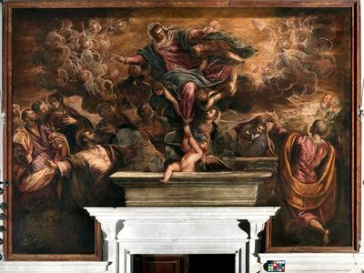 The Assumption of the Virgin, 1582-87