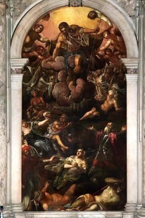 Vision of San Roch, Sala Superiore c.1570