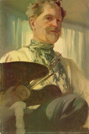 Self Portrait with a Palette, 1907