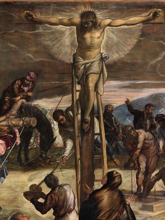 Detail of 'The Crucifixion', 1565