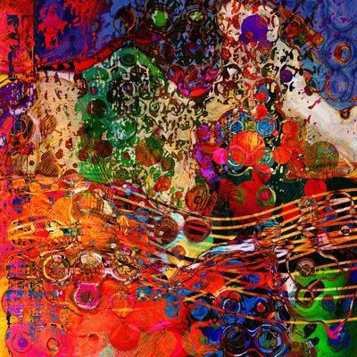 Art Abstract Colorful Rainbow Pattern Background. To See Similar, Please Visit My Portfolio