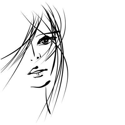 Girl Face Symbols