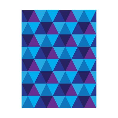 Seamless Of Triangle And Diamond Geometric Shapes