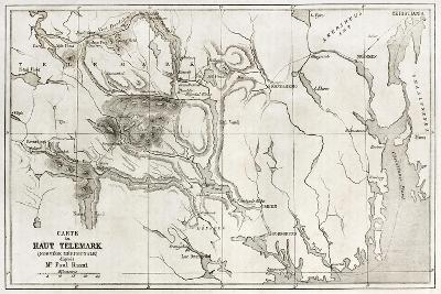 Telemark Old Map, Norway