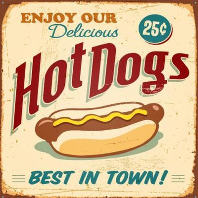 Vintage Design -  Hot Dogs