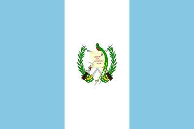 Sovereign State Flag Of Country Of Guatemala In Official Colors