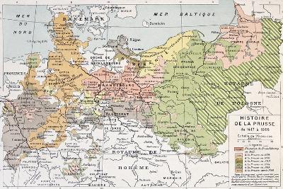 Prussia Historical Development Map