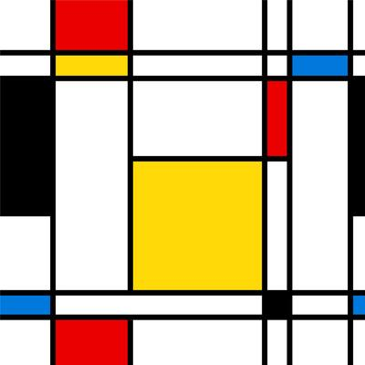 Seamless Abstract Geometric Colorful For Continuous Replicate