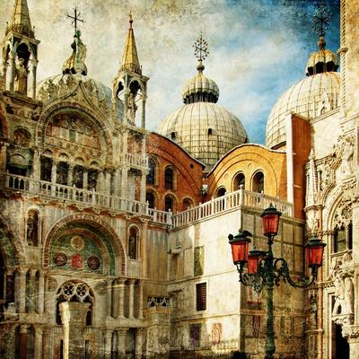 Amazing Venice - Painting Style Series - San Marco Square