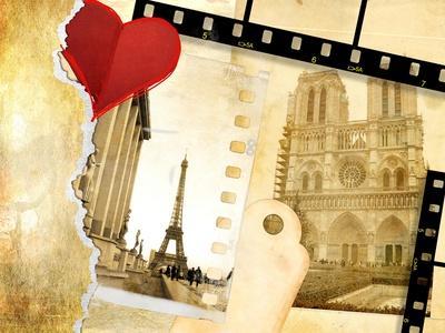 Parisian Memories (Vintage Photo Album Series)