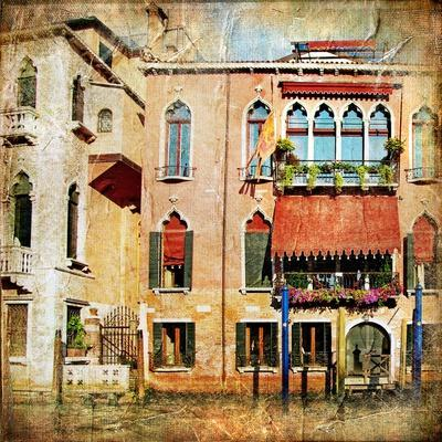 Colors Of Venice - Artwork In Painting Style Series