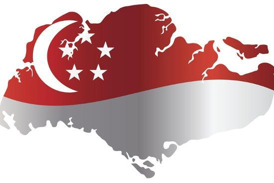 Image result for singapore flag image