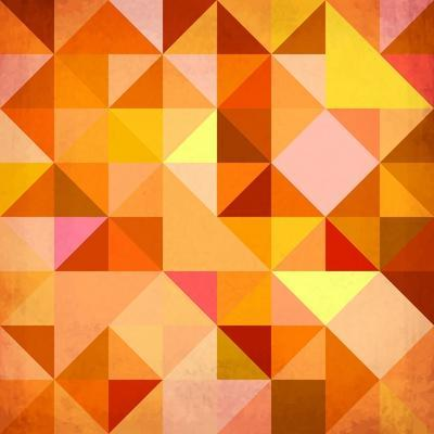 Abstract Triangles Grunge