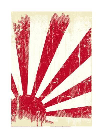 Grunge Japan Flag. An Old Japan Grunge Flag For You Prints ...