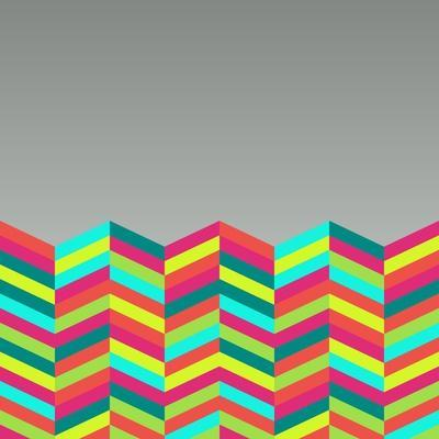 Colorful Abstract Retro Pattern