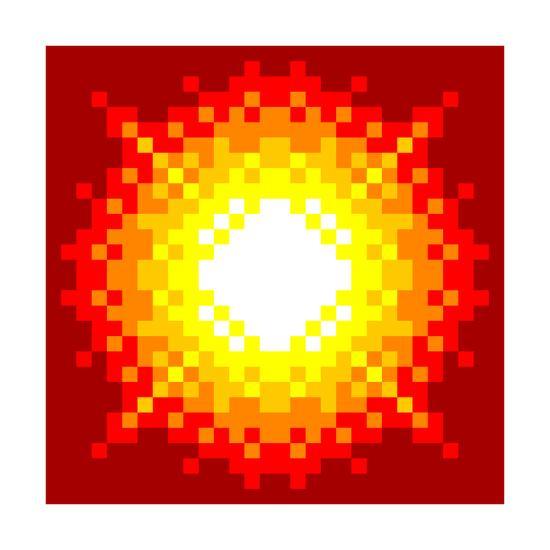 images?q=tbn:ANd9GcQh_l3eQ5xwiPy07kGEXjmjgmBKBRB7H2mRxCGhv1tFWg5c_mWT Pixel Art Explosion @koolgadgetz.com.info