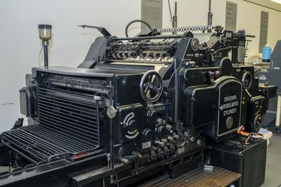 Gutenberg Printing Press, Gutenberg Museum, Mainz, Germany