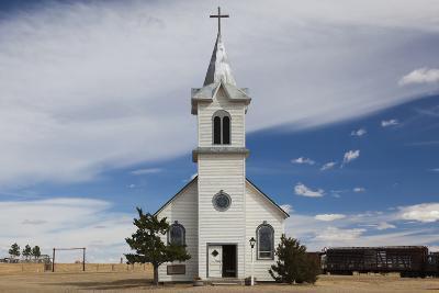 Church, 1880 Town, Pioneer Village, Stamford, South Dakota, USA