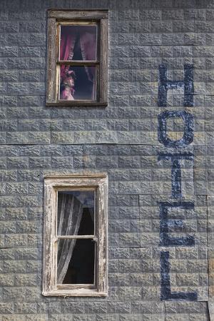 Hotel, 1880 Town, Pioneer Village, Stamford, South Dakota, USA