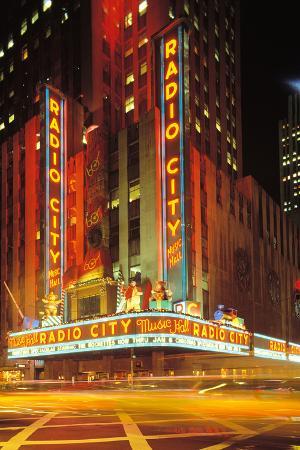 Radio City Music Hall, Manhattan, New York, USA