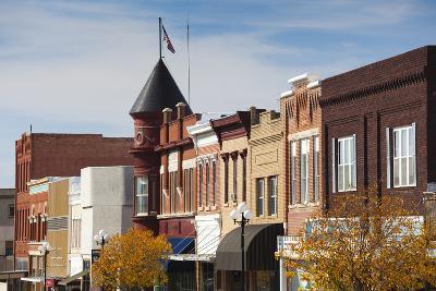 Marysville Downtown City View, Kansas, USA