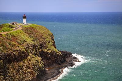 Tourists at Kilauea Lighthouse, Kauai, Hawaii, USA