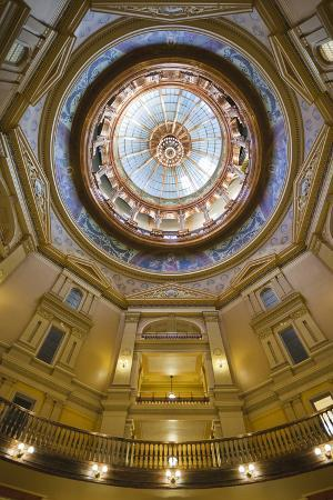 Kansas State Capital Interior, Topeka, Kansas, USA