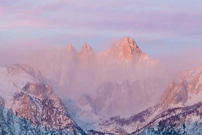 Sunrise on Mount Whitney, Lone Pine, California, USA