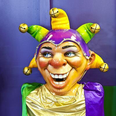 Mardi Gras World Joker, New Orleans, Louisiana, USA