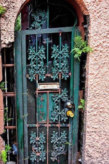 Old French Door New Orleans Louisiana